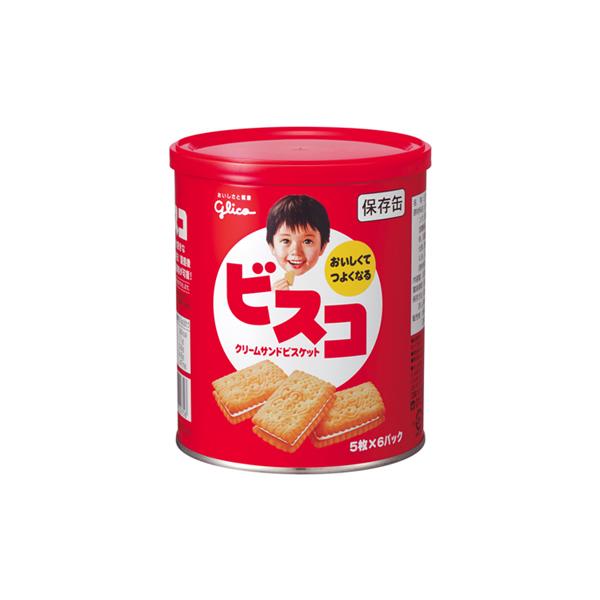 ビスコ保存缶 40缶セット (1缶:30枚入) 【非常食 備蓄】