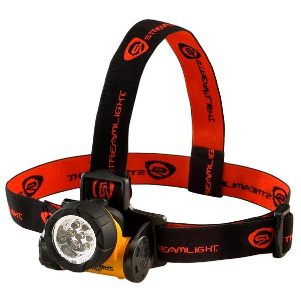 超高輝度LEDを7つ使用した軽量ヘッドライト 超定番 送料無料 StreamLight 卓抜 ストリームライト セプター ブリスターパッケージ