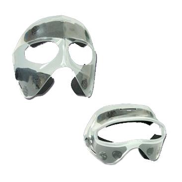 透明マスク(スポーツ用顔面保護マスク)ハーフタイプ