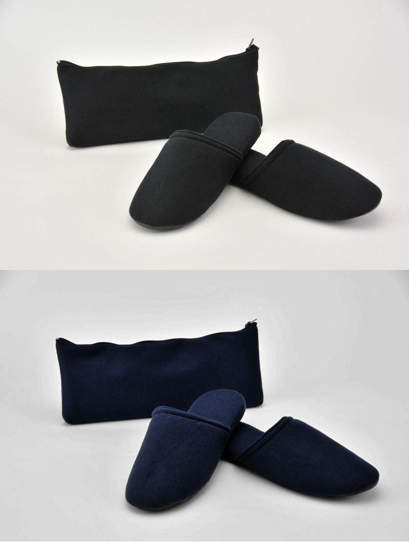 Simple portable slippers for men M-L and women's LL size your exam / interview / school briefing / formal