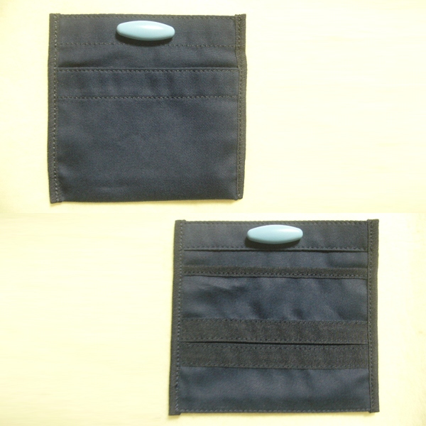 Handy pocket the not clothes! With a pick pocket 2 pieces [bags]