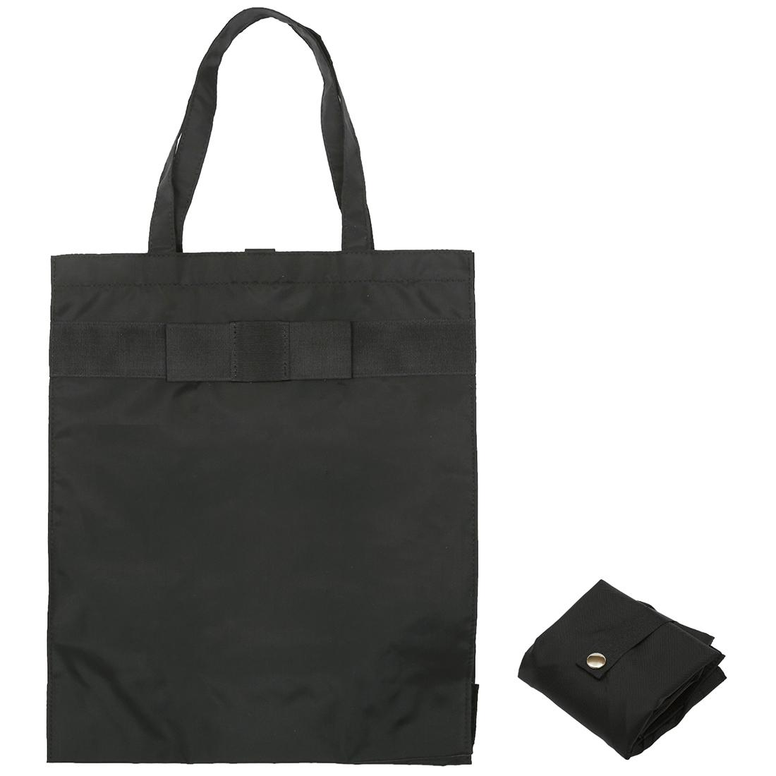 折りたたむとハンドバッグに入れても邪魔にならないコンパクトサイズ アウトレット A4サイズ 書類 フォーマル用リボンエコバッグ 完全日本製 贈物 縦型 マチ付