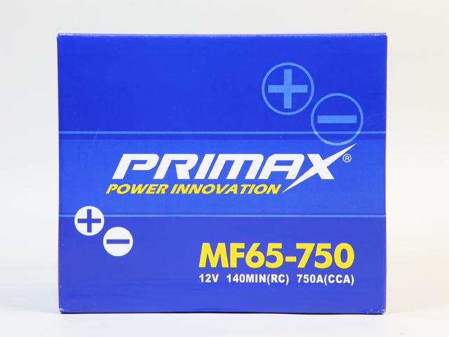 あす楽対応【あす楽対応_関東】専門誌・雑誌等で証明された高性能 PRIMAX(プリマックス)バッテリー 65-750(65-650・65-6MF・65-7MF・65-700)等