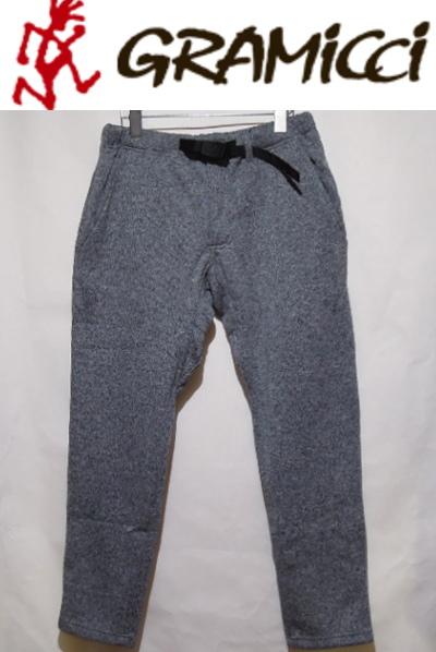 GRAMICCI Fleece SLIM Pants【フリーススリムパンツ】[メンズ]GRAY