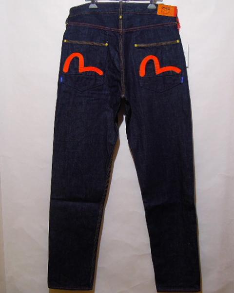 セール特別価格 PMGジーンズ EVISU PMG LEGカモメ刺繍 新作 人気 SLIM 105