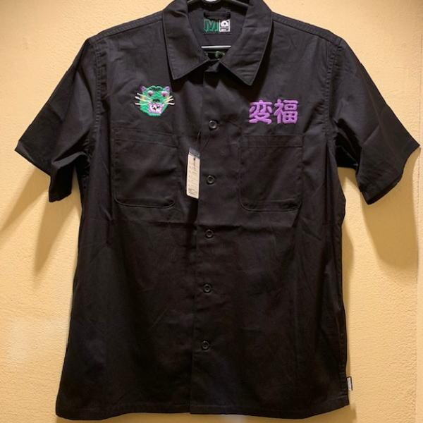 【マモミ】マジカルモッシュミスフィッツMAGICAL MOSH MISFITSマジカルベトシャツBLACK