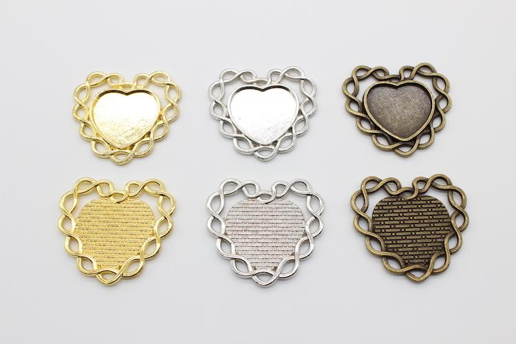 メール便可 ハートのミール皿6枚セット 6枚セット ハートのミール皿 NEW セッティング HAPPYCRAFT シルバー 新作通販 ゴールド ハッピークラフト アンティーク