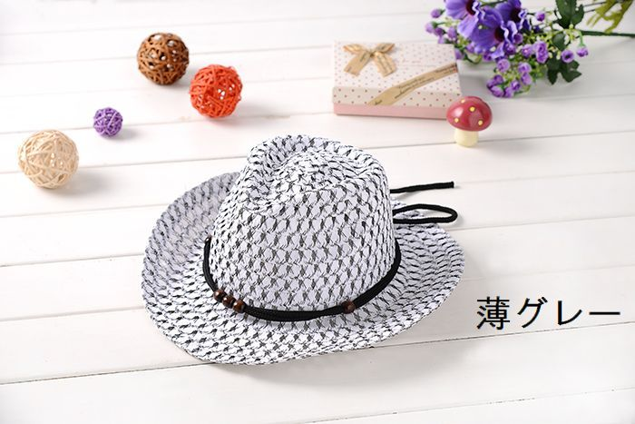♡For more product information♡ ♤ Super angle brackets is a nice classy straw  hat ... b80f496838da