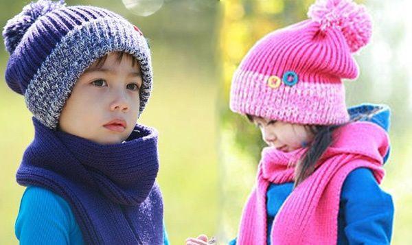 e5c1e5661fd1d5 Children's hat kids knit hats kids knit Cap girl Kids knit hats knit hats  kids children's ...