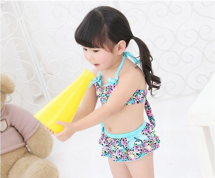 0170ddbff9d78 Swim Cap ☆ ♪ cute swimsuit 3-point set ☆ kids baby swimsuit children  swimsuit ...