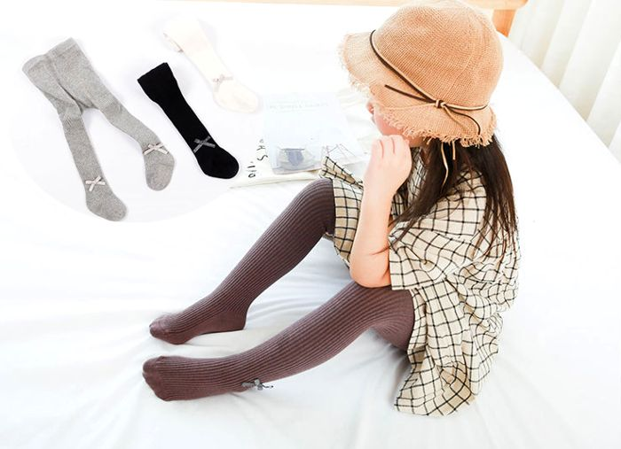 White For Height 90cm-120cm Girls Cute Cat Tights