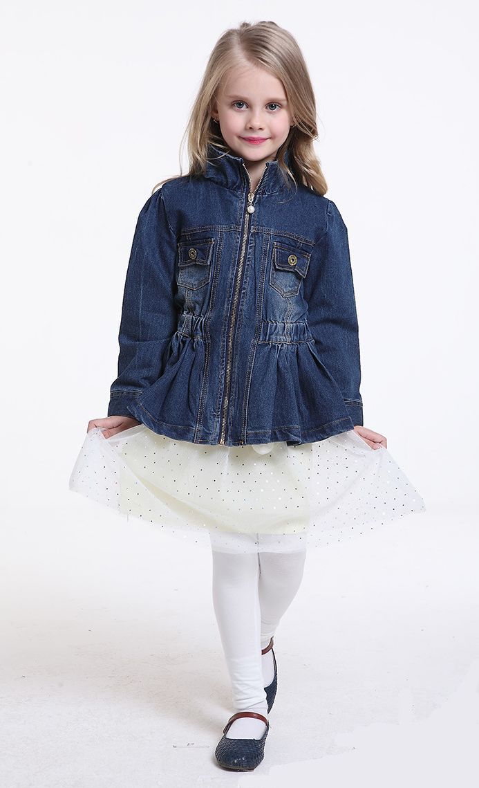 Happydreamshop Denim Jacket Children Clothes Denim Jacket Girls