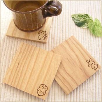 Animal animal wooden coasters wooden tableware wooden gadgets & happy fountain rakuten | Rakuten Global Market: Animal animal wooden ...