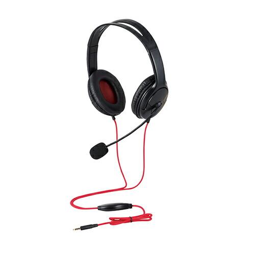 舗 エレコム スーパーセールでポイント最大43.5倍 ゲーム向け 4極 両耳オーバーヘット 1.0m 1.5m延長ケーブル付 PS4 Switch対応 販売実績No.1 HS-GM20BK ブラック