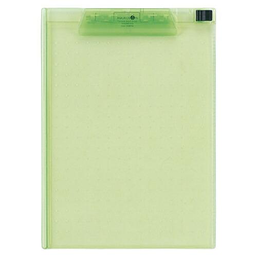 登場大人気アイテム ファイル ケース クリップボード AQUA DROPs まとめ 1枚 A-5010-6 信憑 4903419839239 黄緑 リヒトラブ 20×セット