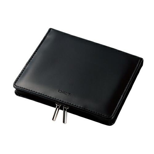 エレコム メーカー公式ショップ 電子辞書ケース フルカバータイプ ブラック DJC-022LBK 登場大人気アイテム Lサイズ