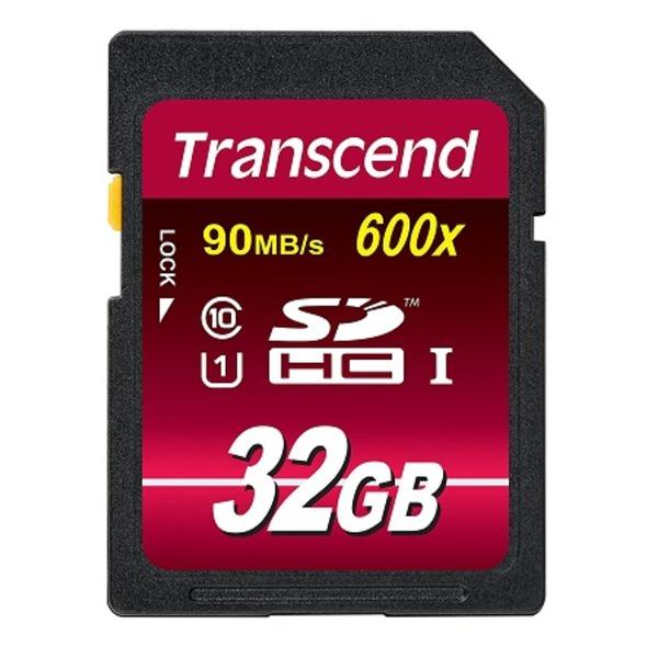 【マラソンでポイント最大43.5倍】トランセンド 32GBSDHCカード 5枚セット TS32GSDHC10U1-5P