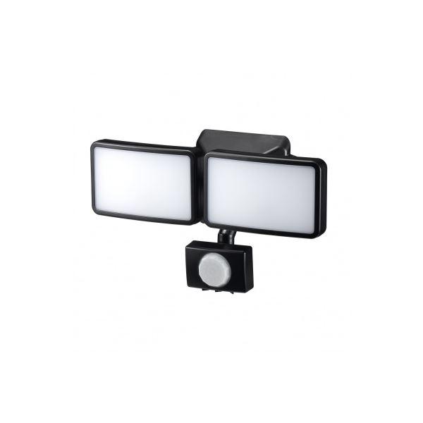 評判 YAZAWA AC式 6WLEDセンサーライト2灯SLR6LEA2 期間限定特別価格