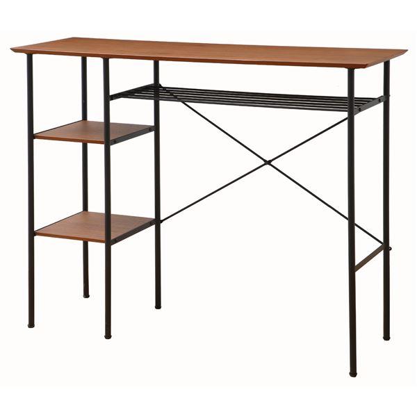 【マラソンでポイント最大43.5倍】カウンターテーブル anthem Counter Table ブラウン 【組立品】【代引不可】
