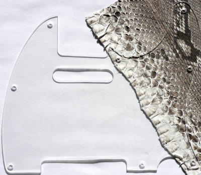 62 years for Telecaster pickguard acrylic clear expression