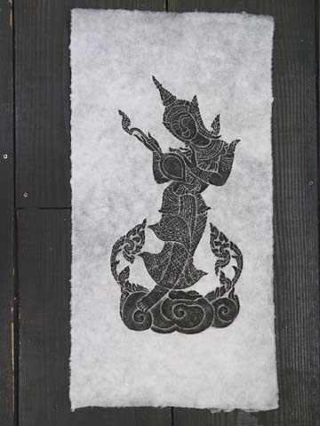 タイで有名な寺院のお守りや御札です タイ-ワット ポーの石刷り その5 ワットポーの石の壁画に紙を当ててその上から墨で擦った絵です 驚きの価格が実現 エスニック 超歓迎された 3枚毎に送料1通分が掛かります ポスト投函配送選択可能です アジアン雑貨