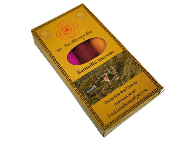 3種類の香りが楽しめるお香セットです 激安通販販売 お香 チベット仏教寺院タルパチョリンナニーのお香 Samadhi3in1 オールナチュラルオールハンドメイドインセンス ネパール香 本物 ポスト投函配送選択可能です チベタンインセンス 3箱毎に送料1通分が掛かります アジアン雑貨 チベット香