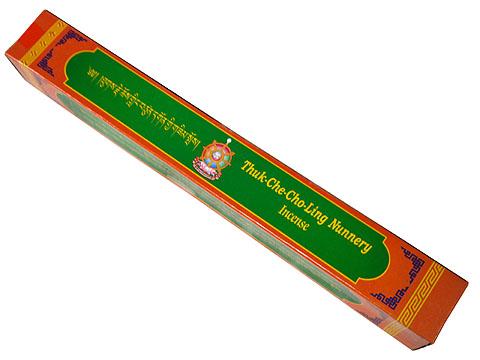 ★ウッディでスパイシーで芳しい香りのお香!★ チベット仏教寺院トゥクチョチョリンナニーのお香(Thuk Che Cho Ling Nunnery Incense ロングタイプ)/オールナチュラルオールハンドメイドインセンス/ネパール香/チベット香/チベタンインセンス/アジアン雑貨