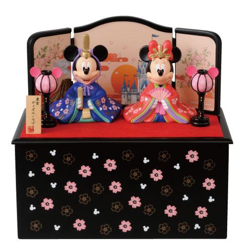 【送料無料】【雛人形】贈り物に♪ディズニーお雛様*ペア飾り(大)【グッズ】*gift-41