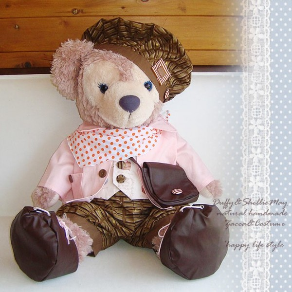 ダッフィー*シェリーメイスウィーツコスチューム・ピンク★Mサイズ70cm★*sweets-pink-m【洋服】【服】【グッズ】