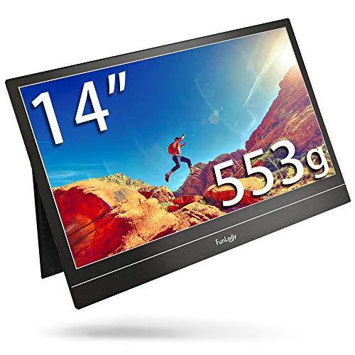【30%OFF】 FunLogy モバイルモニター 1920x1080 FUNVISION Mobi. 14インチ フルHD 1920x1080 Mobi. モバイルモニター 小型 薄型 軽量 モバイル ディスプレイ ポータブル モニター, サクラスイーツ:d194cd18 --- kventurepartners.sakura.ne.jp