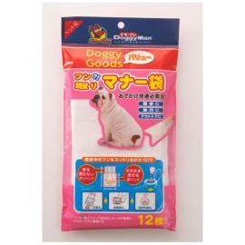 ■ドギーグッズ バリュー フン取りマナー袋 12枚入○