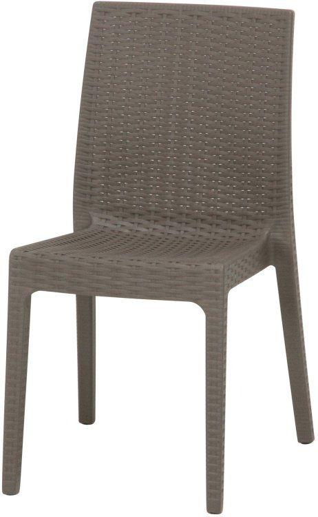 ガーデンチェアー おしゃれ 2脚セット 幅46×奥行55×高さ85cm ベランダ お買い得 グレー 受注生産品 椅子