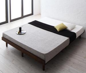すのこベッド ダブル マットレス付き スタンダードポケットコイル フルレイアウト:フレーム幅140 ダブルベッド