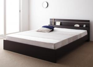 将来分割できる連結ベッド セミダブル ボンネルコイルマットレス付き