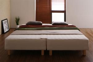 脚付きマットレスベッド WK280 グランドタイプ 脚22cm 日本製ポケットコイルマットレスベッド