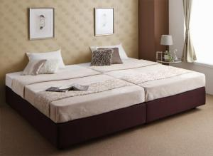 ダブルクッションベッド セミシングル セミシングルベッド マットレス付き ボンネルコイル