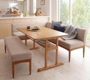 ダイニングテーブルセット 6人掛け おしゃれ コンパクト W120 激安 別倉庫からの配送 激安特価 送料無料 4点セット 6人用 ダイニングソファー ダイニングセット テーブル120+ソファ+左アームソファ+ベンチ