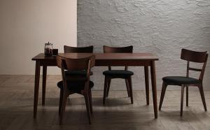 ダイニングテーブルセット 4人掛け おしゃれ 5点セット(テーブル幅150+チェア4脚) モダンデザイン ダイニングセット