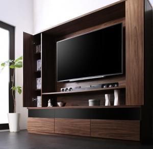 壁掛け機能付きハイタイプTVボード 180cm 160cm 45cm テレビボード 【Dewey】