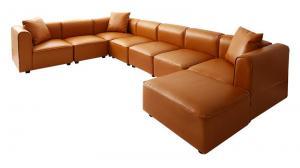 コーナーソファー ショップ 5人掛け おしゃれ ヴィンテージ大型L字ソファ 幅300cm ブラウン 商品