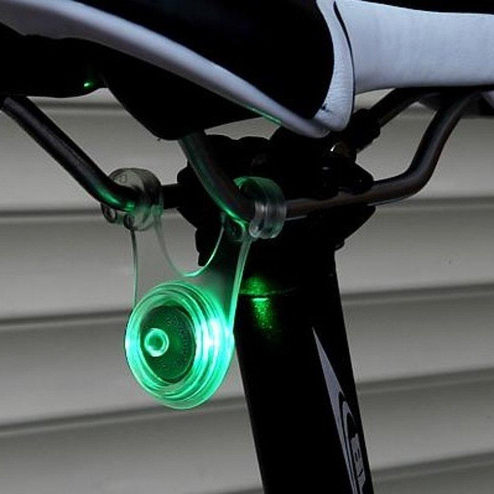 早点滅 遅点滅 常時点灯の3パターンに切り替え キャンプのロープに 夜間の視認性 シンプルで軽いライト LEDが明るい 構造がシンプル 使いやすい 夜間ロープ スポーク LED ライト 自転車 サイクル 用 ぶら下げ式 防水 人気の製品 シリコン 点灯 遅 タイムセール 緑 3 グリーン 赤 青 夜間も安全 早 の 夜間走行 パターン 自転車スポークLEDライト 点滅 テール ブルー ランプ レッド 事故防止