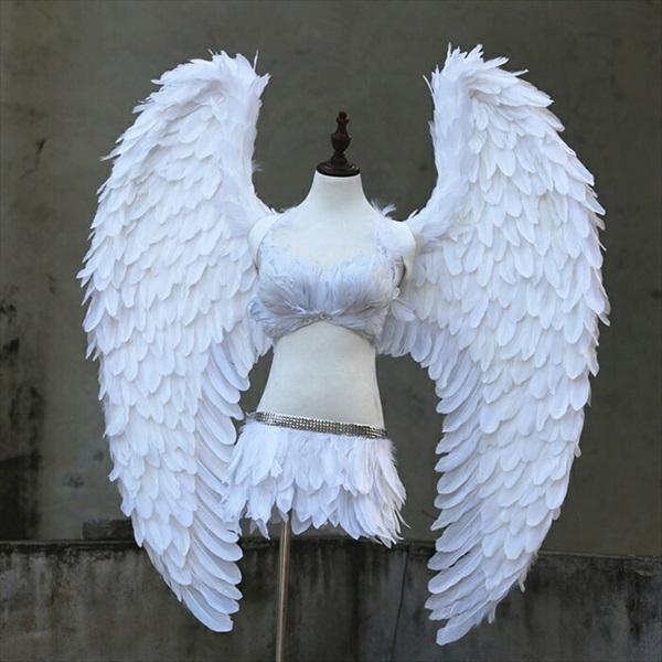 コスプレ道具 天使 羽 120cm ホワイト グレー ゴールド 翼 天使の翼 天使の羽 エンジェル 妖精 パーティーグッズ 3colors cosplay用 コスプレ COSPLAY コスチューム ハロウィン クリスマス用 la125h2h2h2/代引不可 02P09Jul16