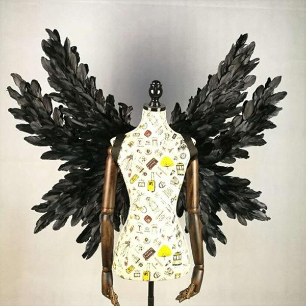 コスプレ道具 天使 羽 100 120 翼 ブラック 天使の翼 妖精 天使の羽 ファッションショー オーバーのアイテム取扱☆ パーティーグッズ 期間限定 コスチューム クリスマス用 撮影 マスクプレゼント中 大量注文にも対応しています 学園祭 cosplay用 文化祭 la133h2h2h2 代引不可 驚きの値段 ハロウィン