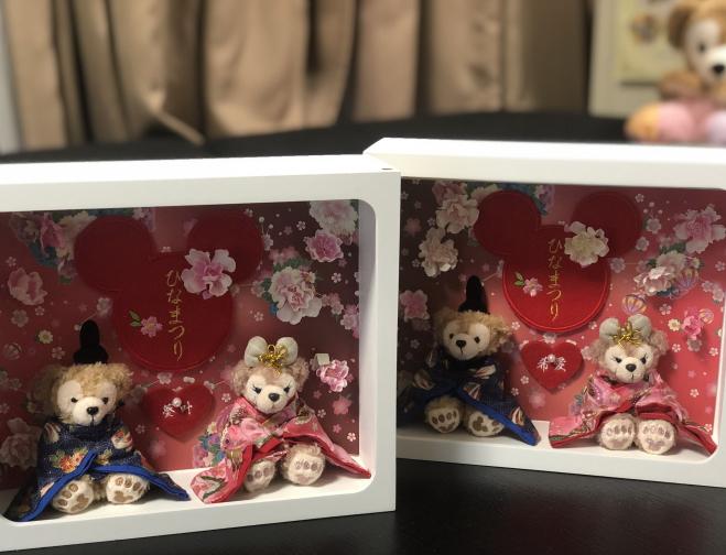送料無料!☆☆雛人形☆ひなまつり☆ディズニーランド☆ダッフィー2015☆名いれ※当店オリジナル