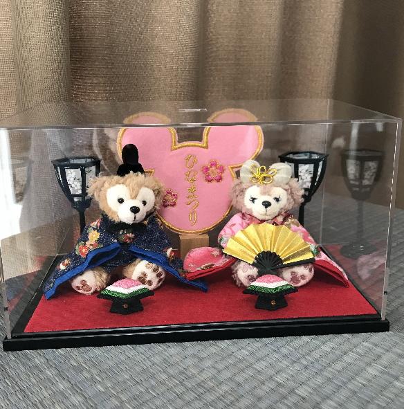**送料無料!☆☆雛人形☆ひなまつり☆ディズニーランド☆ダッフィー2015☆2016☆2017 出産祝い