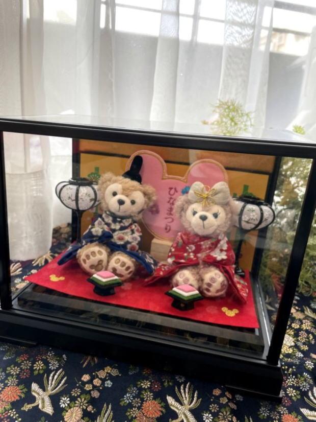 ディズニー ミッキー ミニー ひな人形 ひなまつり 雛 雛人形 ダッフィー 【送料無料】【雛人形】【おしゃれ】【コンパクト】☆☆雛人形☆ひなまつり☆ダッフィー2021新作