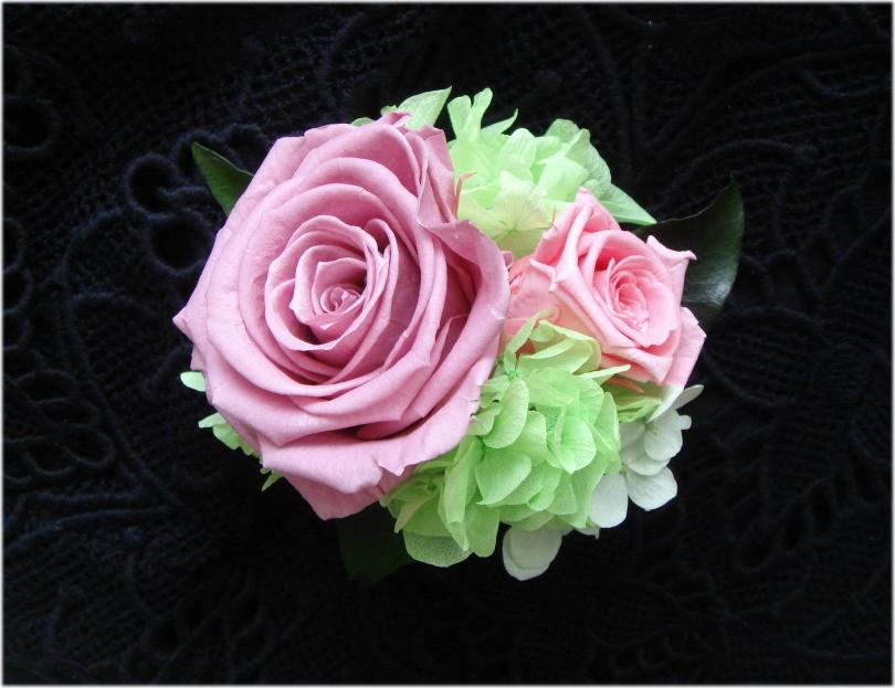 プリザーブドフラワー コサージュ 卒業式 ピンクローズプリザーブドフラワーコサージュ 入学式 結婚式およばれなど ファクトリーアウトレット 卒園式 期間限定で特別価格
