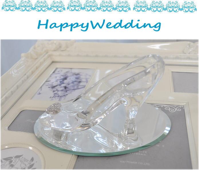 ディズニーランドのシンデレラ城☆ガラスの靴☆もちろんガラス製です