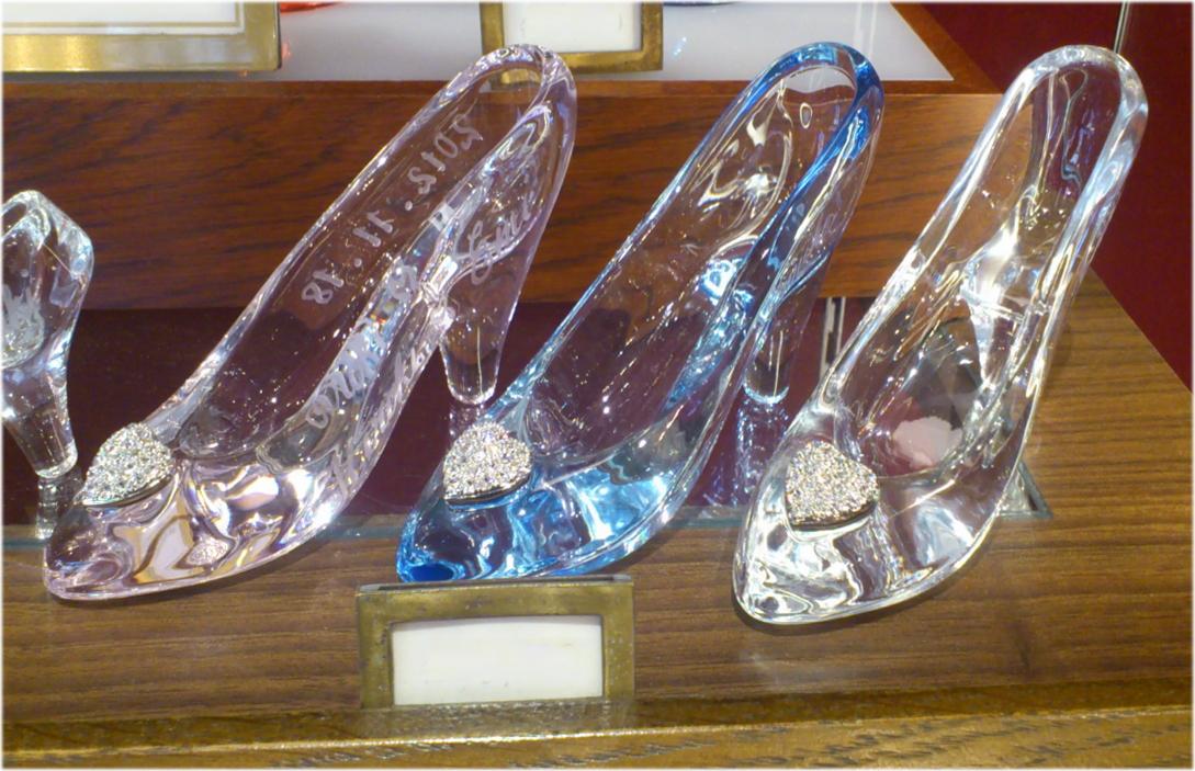 ディズニーランド限定 ガラスの靴 サイズM