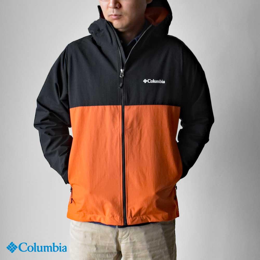 【Columbia】コロンビア Vizzavona Pass Jacket ヴィザボナパスジャケット メンズ PM3781 ナイロン ジップアップ 撥水 ウィンドブレーカー HAPTIC ハプティック